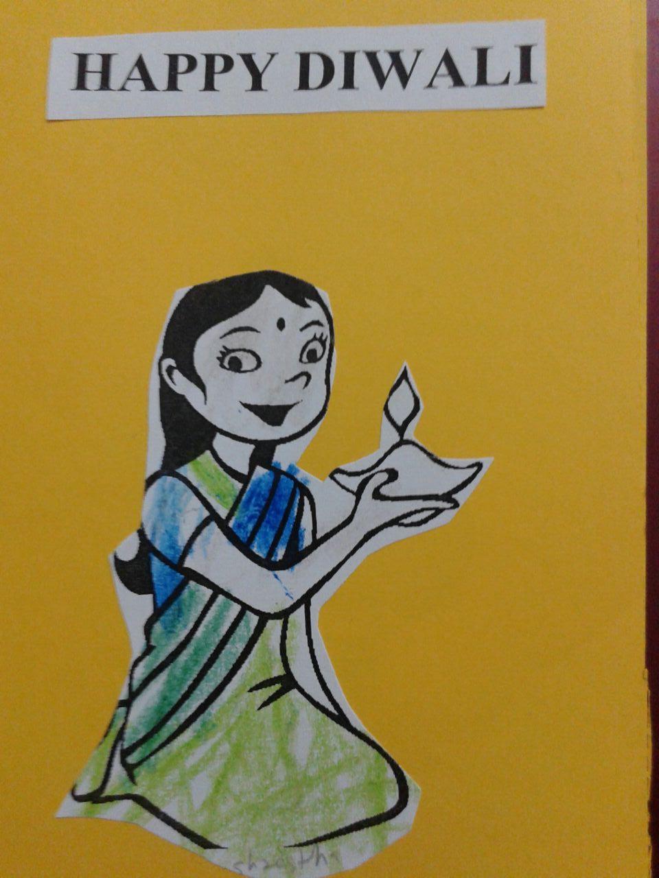 Happy Diwali Greeting Cards Animation